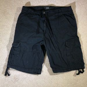 CSG Black Cargo shorts. Size 38